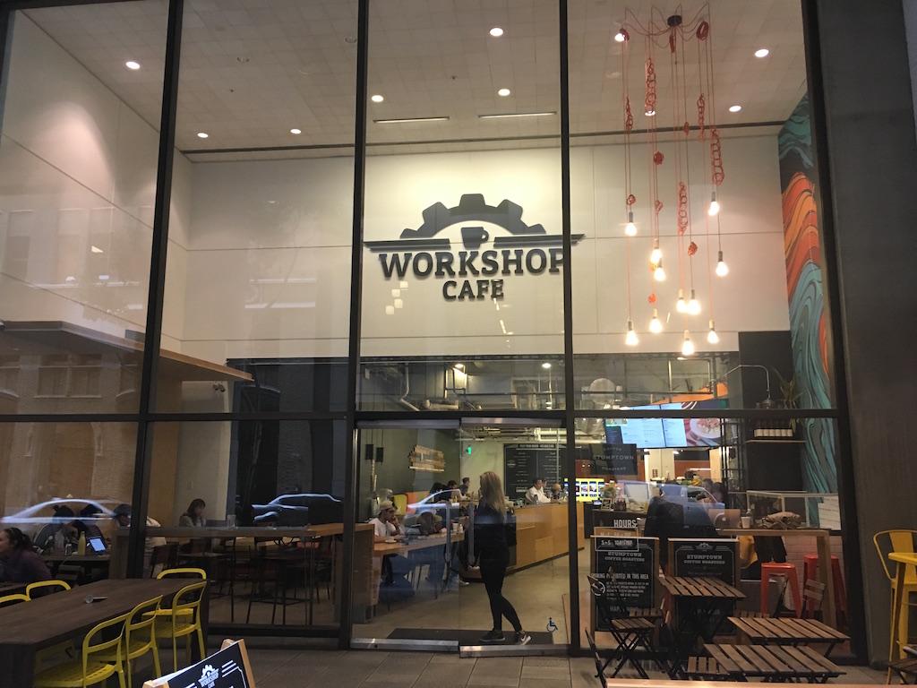 샌프란시스코 코워킹스페이스 [WORKSHOP CAFE]